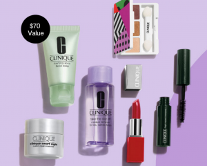 Clinique: FREE 7-Piece Gift ($70 Value!) With Purchase!