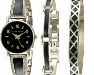 Mother's Day Gifts from Anne Klein Starting at $39.99 = Highly Rated Swarovski Crystal Accented Bangle Watch with Bracelet Set Only $49.99 (Reg. $150!)