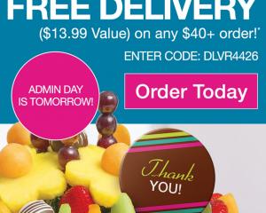 Edible Arrangements: Free Delivery ($13.99 Value!)