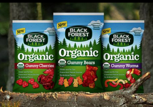 Snag a FREE organic gummy bear sample today. Yum!