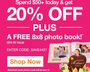 Edible Arrangements: 20% Off & FREE 8×8 Shutterfly Photo Book!