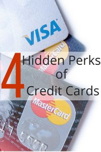 hidden perks of your credit cards
