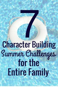 Boredom busters can get, well, kind of boring. These 7 character building summer challenges will teach your kids lessons and skills that will last them the summer and beyond!