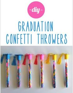 Confetti throwers