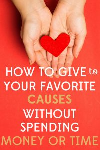Give to Favorite Causes