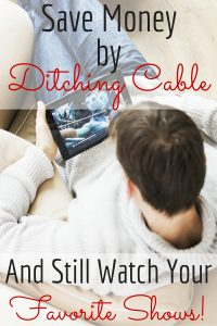 save money by ditching cable