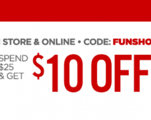 JCPenney: $10 Off $25 Purchase!