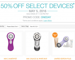 Clarisonic: 50% Off Select Devices = Mia 2 Only $74.50 Shipped (Reg. $149) + More