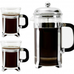 Highly Rated Bruntmor Premium 34 Oz French Press with 2 Mugs Only $15.28 (Reg. $33.95!)