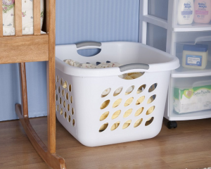 Highly Rated 6-Pack of Sterilite 53 Liter Ultra Square Laundry Baskets Only $25 (Just $4.16 Per Basket!)