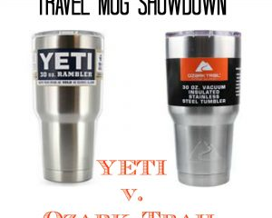 Travel Mug Showdown: YETI v. Ozark Trail
