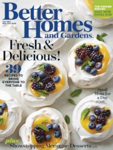 Score a FREE Better Homes and Gardens magazine subscription today.