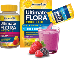 Saturday Freebies – Free Ultimate Flora Priobiotic Gummies & Fizzy Drink Mix Samples
