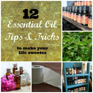 There are so many ways to use essential oils that it can be a little overwhelming. Here are 12 tips for getting started with essential oils.