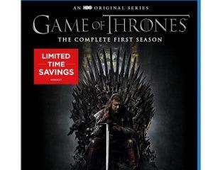 "Save on ""Game of Thrones: Seasons 1 & 2"" on Blu-ray, DVD, & Digital"