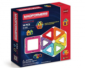 40% Off Select Magformers Magnetic Toys = Magformers Standard 14 Piece Set Only $14.99 (Reg. $24.99!)