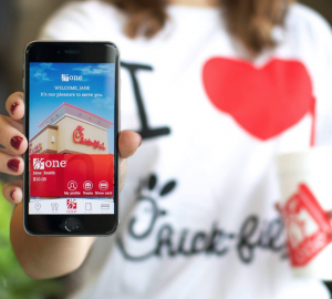 Get a FREE Chick-Fil-A sandwich today. Yum!
