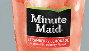 Get FREE Minute Maid Strawberry Lemonade today. Yum!
