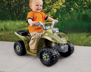Up to 40% Off Power Wheels = Fisher-Price Power Wheels Camo Lil' Quad Only $54.99 (Reg. $89.99!)