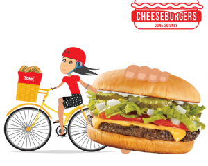Monday Freebies – 1/2 Price Cheeseburgers at Sonic Drive-In