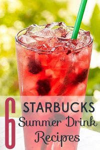 It's too easy to drop money at Starbucks when you're hot and thirsty. Here are 6 Starbucks summer drink recipes that will save you big bucks.