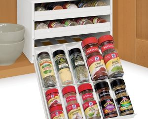 YouCopia Chef's Edition SpiceStack 30-Bottle Spice Organizer, only $29.99!