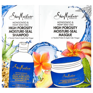 Get a FREE  Shea Moisture shampoo and masque sample today!