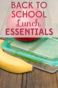 The first day of school is almost here! Are you ready to start packing lunches? These back to school lunch essentials will help you out.