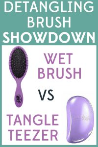 It's a detangling brush showdown! I compared the Wet Brush vs Tangle Teezer. Find out which one came out on top!