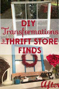With a little DIY creativity, thrift store finds can go through amazing transformations. Check out these DIY projects for thrift store finds.