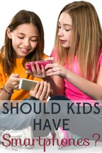 Should kids have smartphones? It's a question nearly every parent will have to answer. Let's weigh the pros and cons.