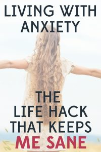 LIVING WITH ANXIETY (1)Living with anxiety isn't easy, but I have found one simple habit that has made a huge difference in my mental health and wellbeing.