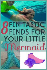 Is your little one obsessed with mermaids? Make her day with these 8 fin-tastic finds for your little mermaid.