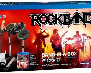 Rock Band 4 – Band In A Box Bundle only $99.99!