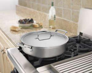 Cuisinart MultiClad Pro Stainless 5-1/2-Quart Casserole with Cover only $58.97!