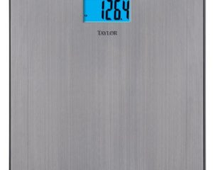 Taylor Precision Products Stainless Steel Electronic Scale only $24.97!