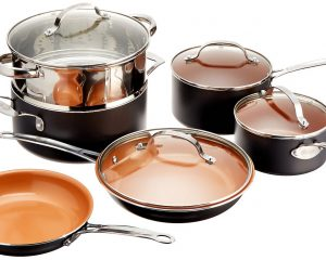 Gotham Steel 10-Piece Kitchen Cookware Set Only $89.99!