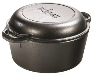 Lodge Double Dutch Oven and Casserole, 5-Quart Only $26.76!