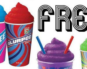 Saturday Freebies – Free Small Slurpee!