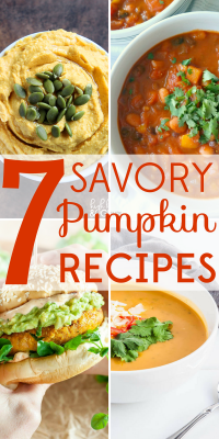 Pumpkin is a nutritional powerhouse that can do so much more than dessert. These 7 savory pumpkin recipes are both healthy and delicious!
