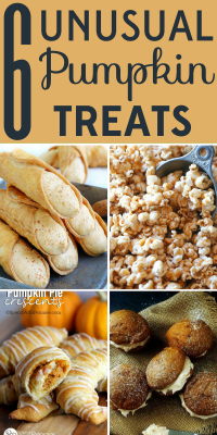 Looking for pumpkin recipes beyond pies and muffins? These 6 unusual pumpkin treats will get your mouth watering.