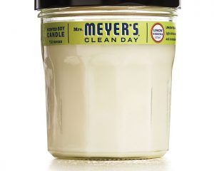 Mrs. Meyer's Clean Day Soy Candle, Lemon Verbena Only $6.50!