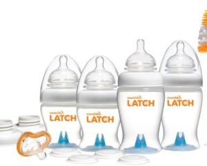 Munchkin LATCH BPA-Free Newborn Baby Bottle Gift Set, 12 Piece Only $18.52!