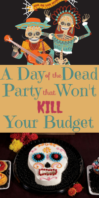 You can throw a spectacular Day of the Dead party without killing your budget! Check out our bargain Day of the Dead finds.