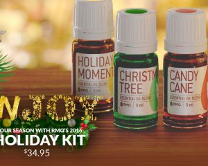 Holiday Kit from Rocky Mountain Oils Only $34.95!