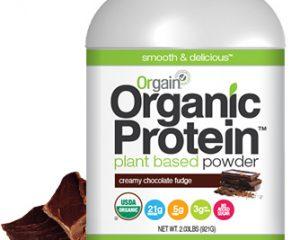 Wednesday Freebies – Free Sample of Orgain Organic Protein Powder