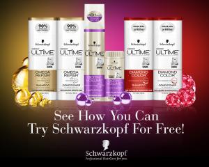 Tuesday Freebies – Free Schwarzkopf Hair Care