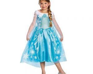 Disguise Disney Frozen Elsa Deluxe Costume Only $5.99!