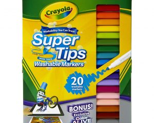 Crayola 20 Ct Super Tips Washable Markers Only $2.79!