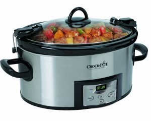 Crock-Pot 6-Quart Programmable Cook and Carry Oval Slow Cooker Only $34.30!